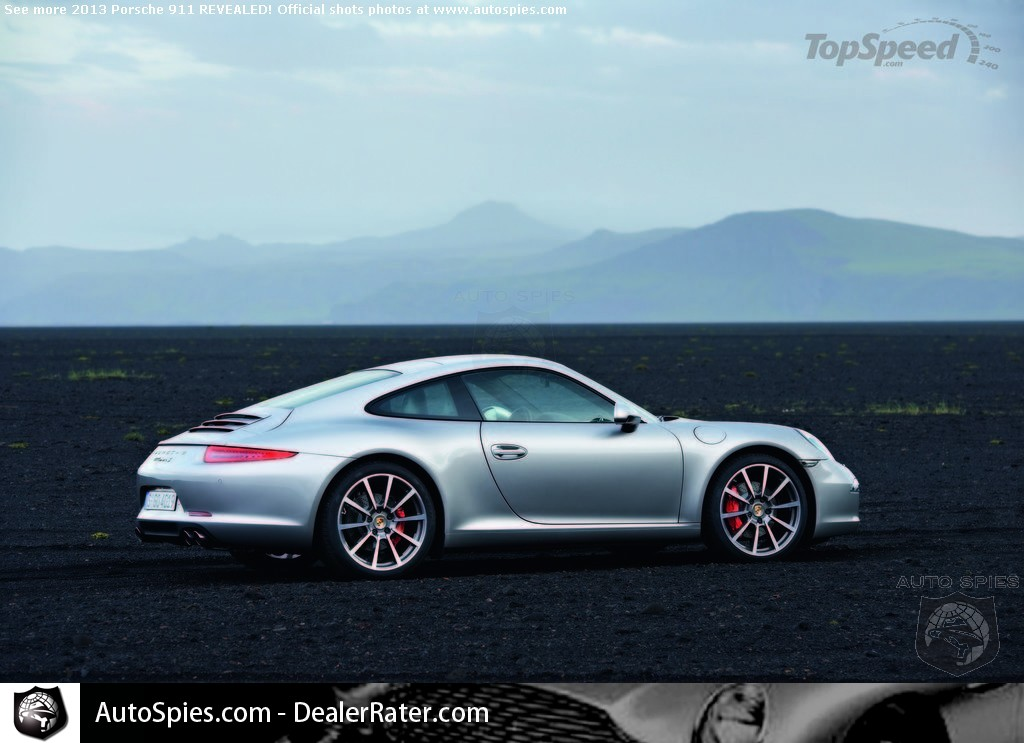 Porsche 991 Pictures And Technical Information Revealed