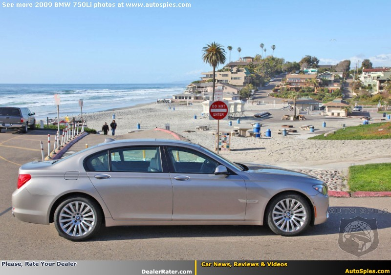 REVIEW BMW Series Powers Past SClass LS And A - 2009 bmw 745li