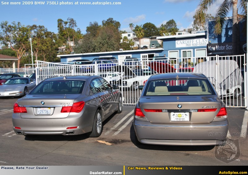 Rear Comparison Of Bimmerfest BMW Forums - 2009 bmw 745li