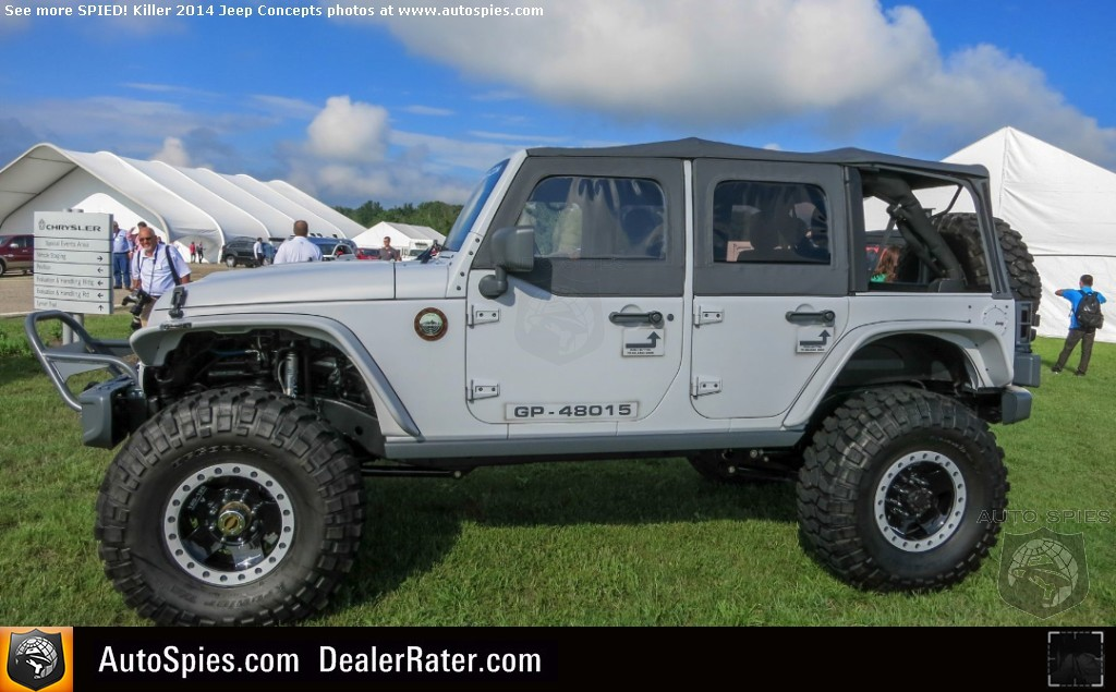 2014 Jeep Wrangler Rubicon >> AutoSpies.com Photo Gallery